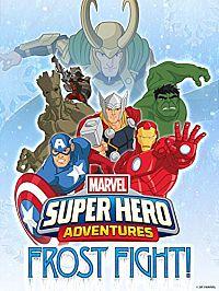 Смотреть мультфильм Приключения Супергероев: Морозный Бой