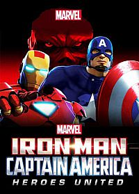 Смотреть мультфильм Железный человек и Капитан Америка: Союз героев