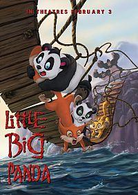 Смотреть мультфильм Смелый большой панда