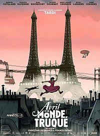 Смотреть мультфильм Аврил и поддельный мир