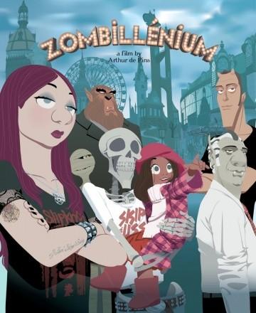 Смотреть мультфильм Зомбиллениум