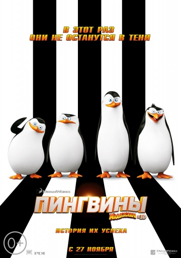 Смотреть мультфильм Пингвины мадагаскара