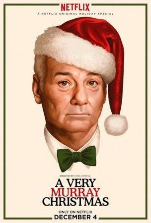 Смотреть фильм Очень Мюрреевское Рождество