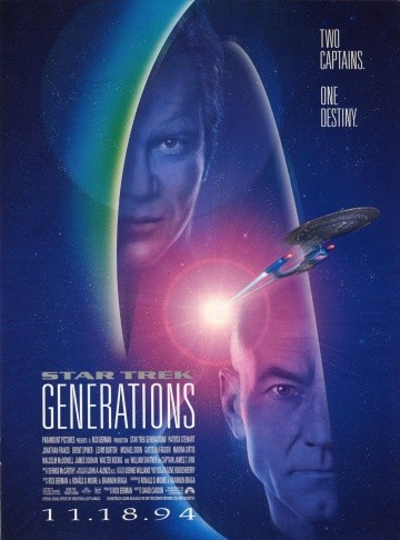Смотреть фильм Звездный путь 7: Поколения