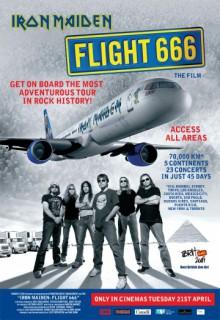 Смотреть фильм Iron Maiden – рейс 666