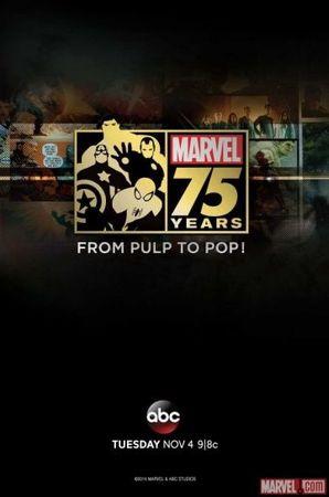 Смотреть фильм Документальный фильм к 75-летию Marvel