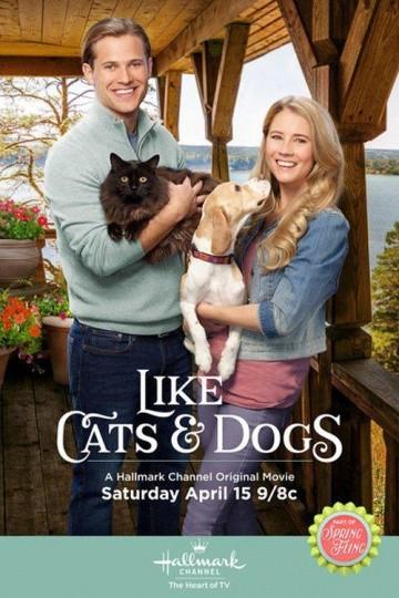 Смотреть фильм Как кошка с собакой
