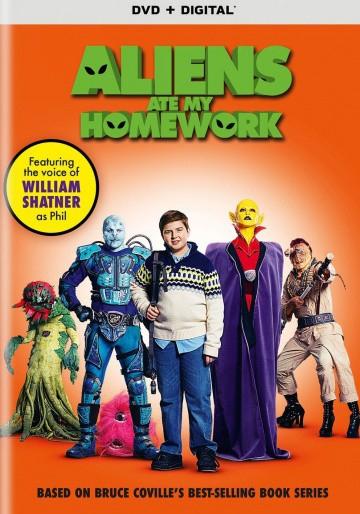 Смотреть фильм Инопланетяне съели мою домашнюю работу