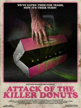 Смотреть фильм Нападение пончиков-убийц