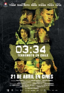 Смотреть фильм 03:34 Землетрясение в Чили