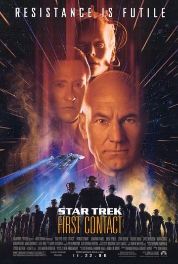 Смотреть фильм Звездный путь: Первый контакт
