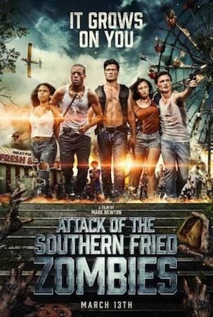 Смотреть фильм Нападение южных жареных зомби