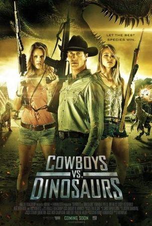 Смотреть фильм Ковбои против динозавров