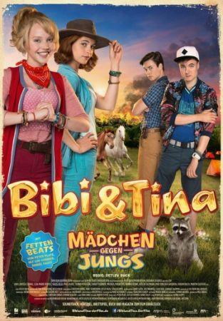 Смотреть фильм Биби и Тина: Девчонки против мальчишек