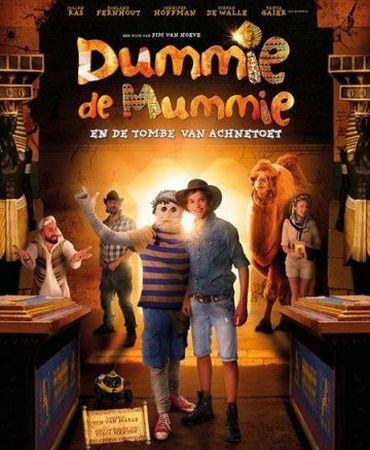 Смотреть фильм Dummie de Mummie en de tombe van Achnetoet